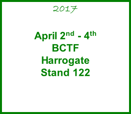 2017  April 2nd - 4th BCTF  Harrogate Stand 122
